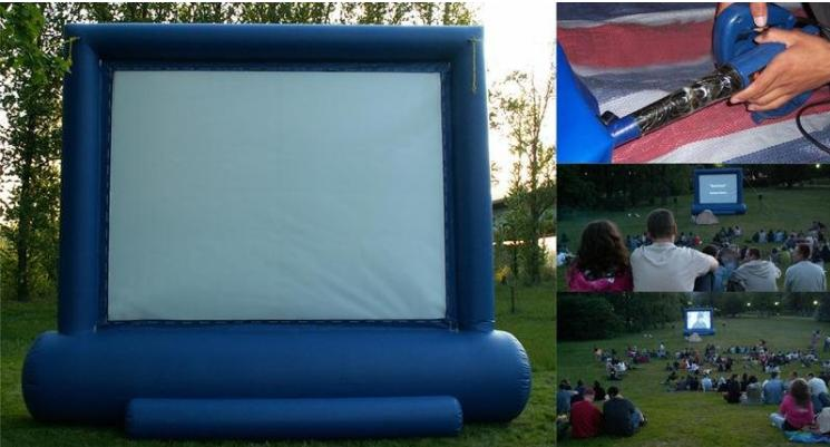 outdoor home cinema