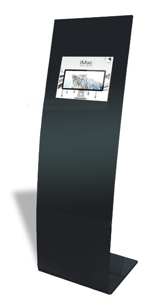 floorstanding LCD advertising screens