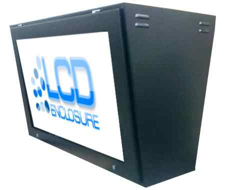 dual sided digital signage housing