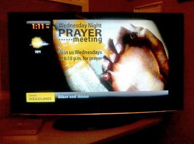 church digital advertising