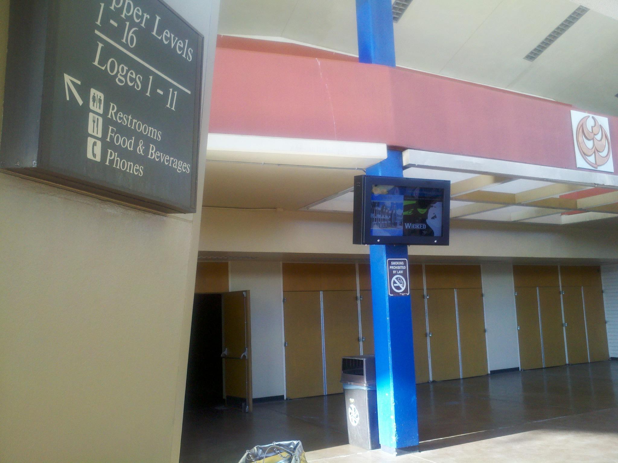 outdoor digital signage enclosure