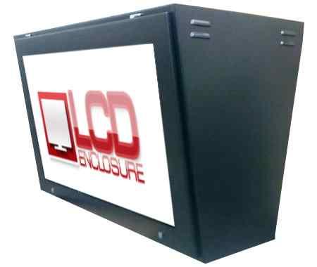 plasma display enclosure
