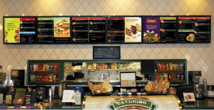digital signage for restaurants