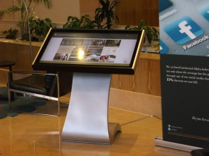interactive digital signage