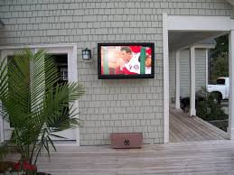 Outdoor TV enclosure cases