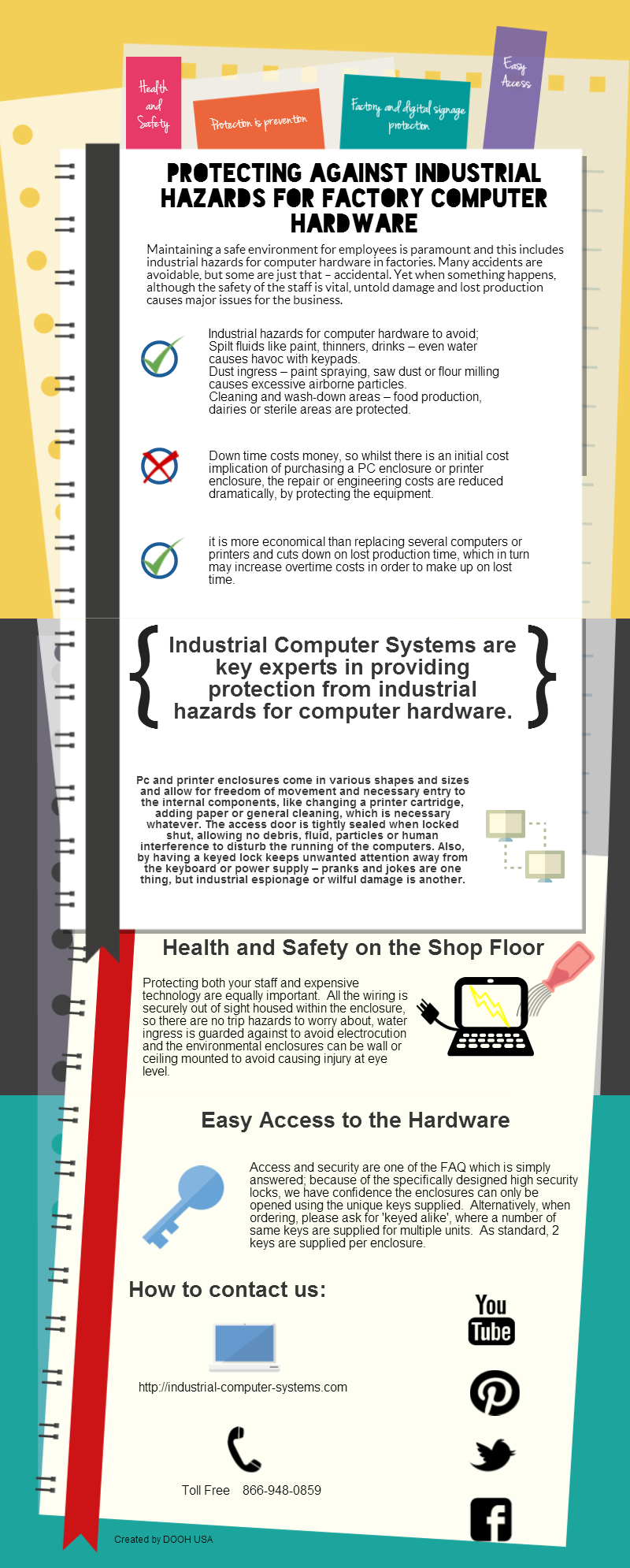 Protecting Against Industrial Hazards for Factor Computers