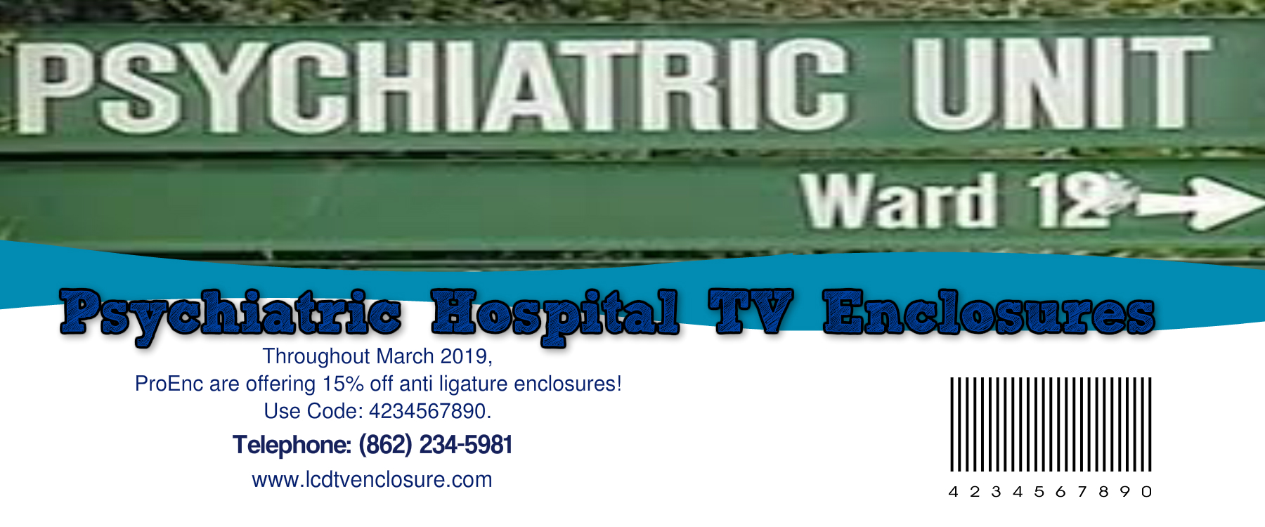 ligature resistant tv enclosure Coupon