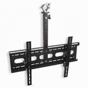 Pole mounted LCD TV VESA mount bracket