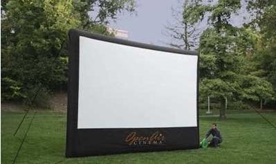 outdoor home cinema