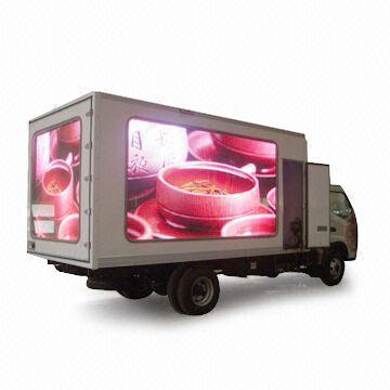 digital signage vehicle