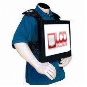 digital signage vest