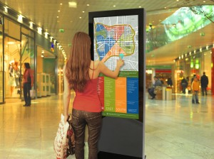 location based digital signage