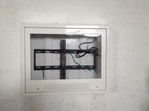 anti ligature LCD TV enclosure