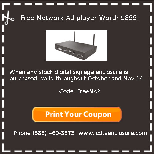 free network media player coupon