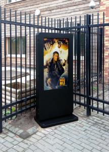 sunlight readable kiosk