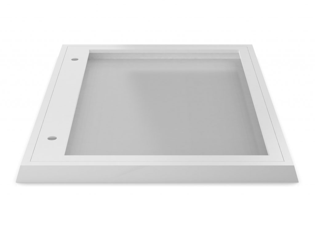 Anti Ligature sloped top and bottom display board