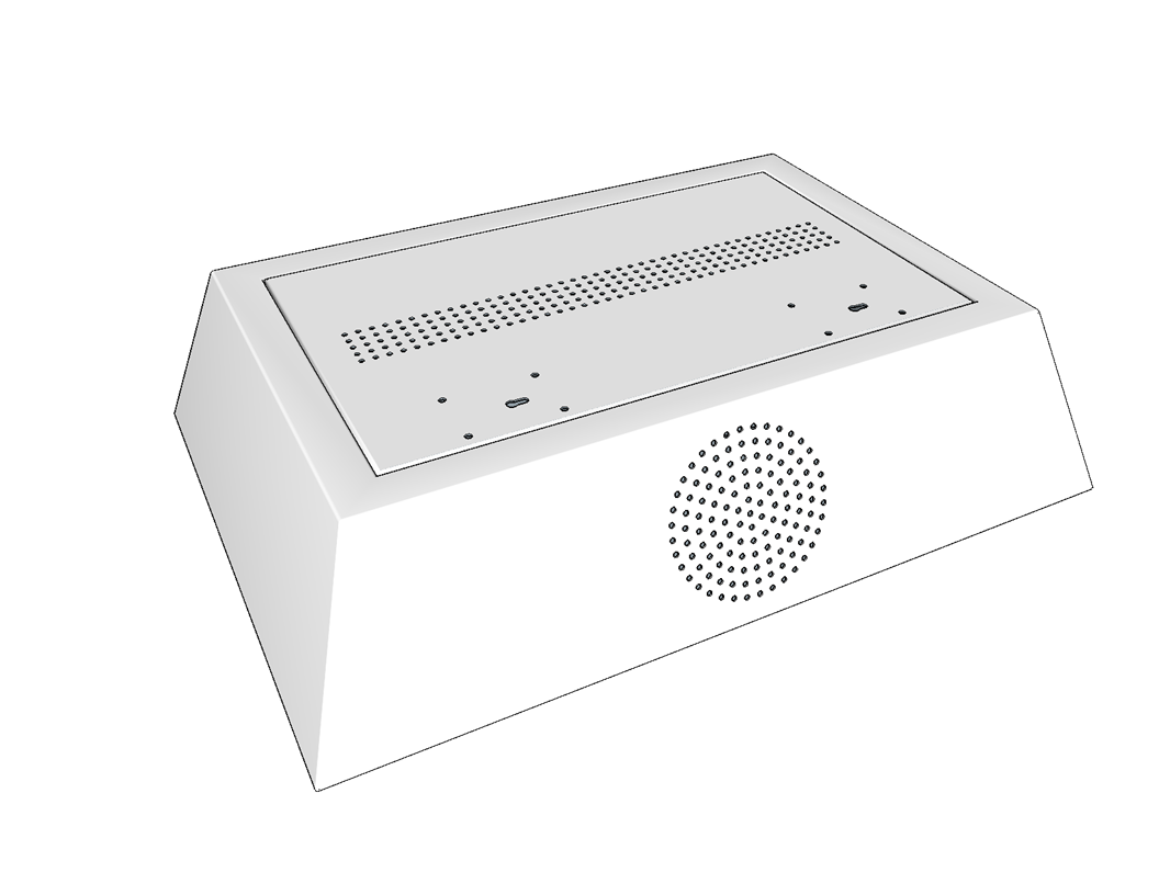 virtual patient monitoring enclosure